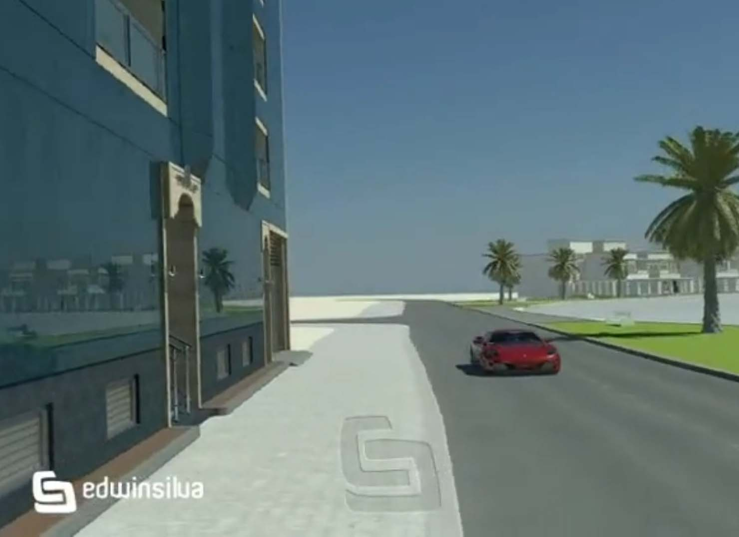 Animated Building in Amwaj Islands by Edwin
