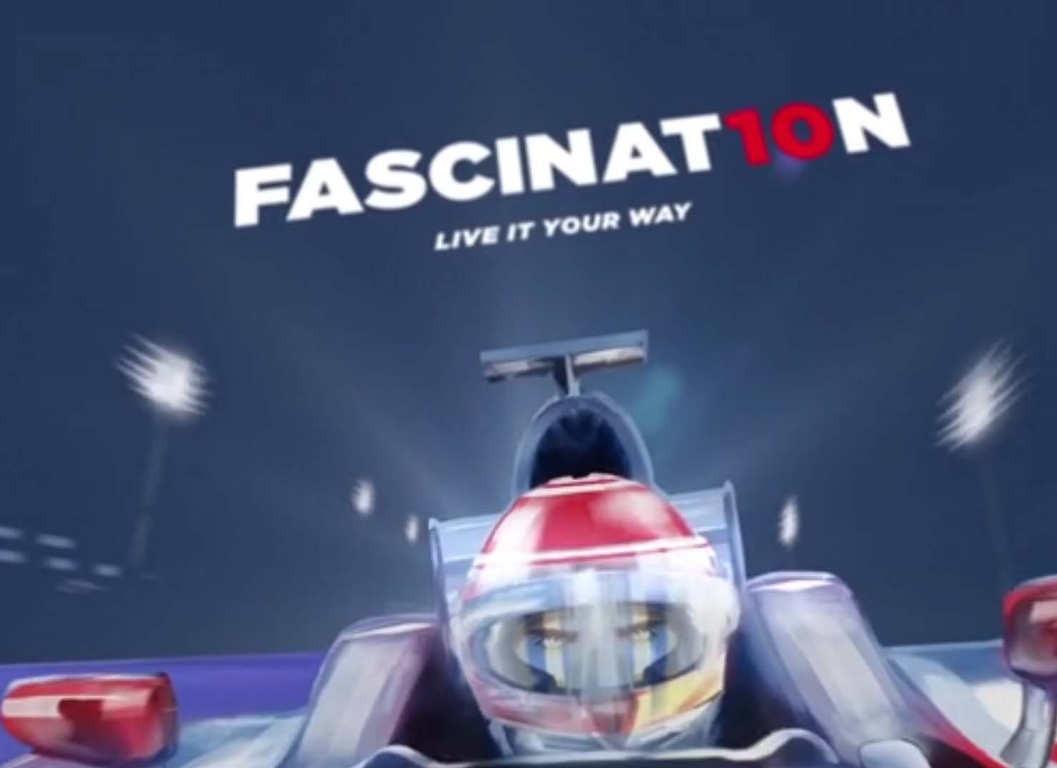 F1 Night race Video